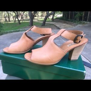 Heeled peep toe sandals - Paul Green 8.5 US WM
